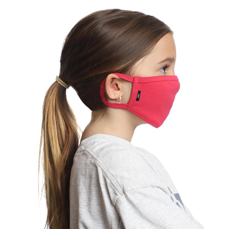 Kids Pink Face Mask by ello