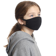 Kids Black Face Mask 3-Pack by ello