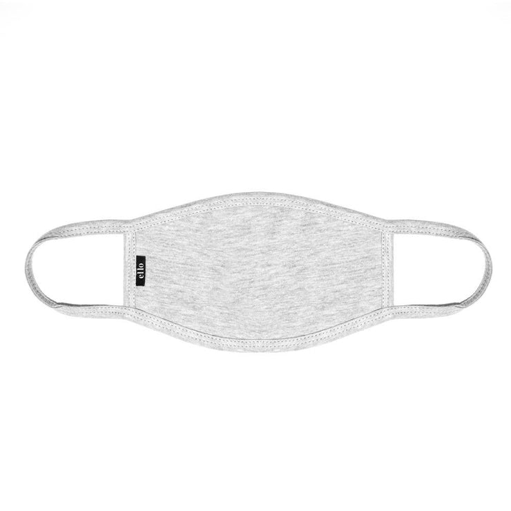 Light Grey Face Mask by Ello Made in USA