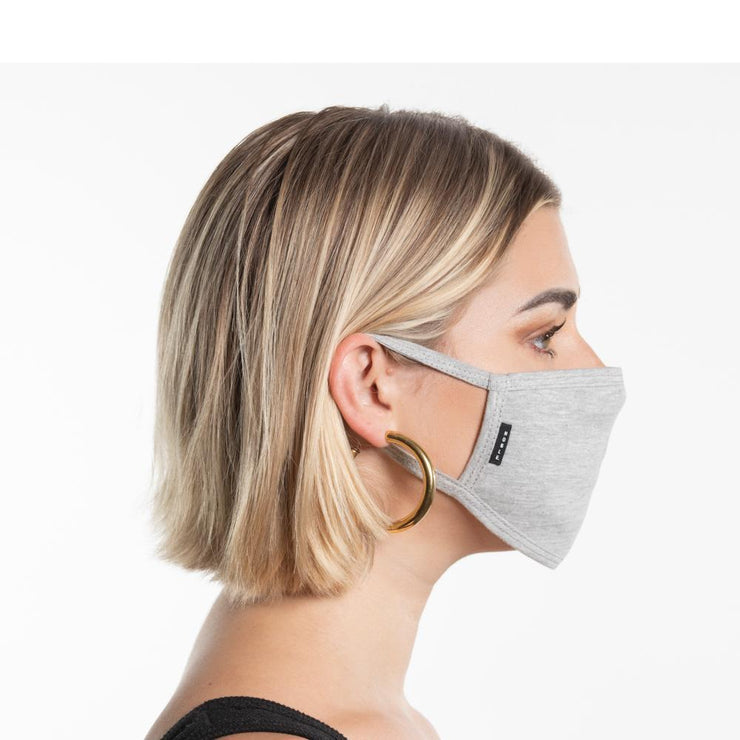 Womens Light Grey Face Mask