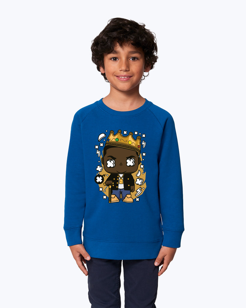 Kids Sweater Notorious Big Rapper