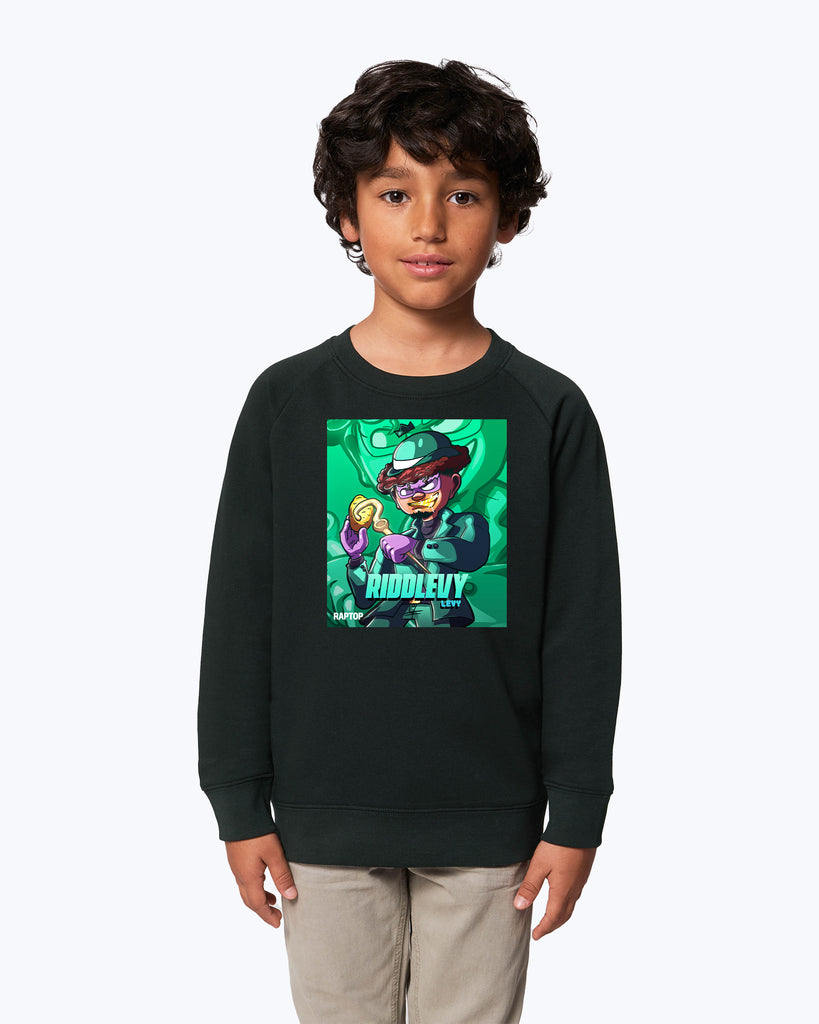 Kids Sweater Raptop Riddlevy Levy