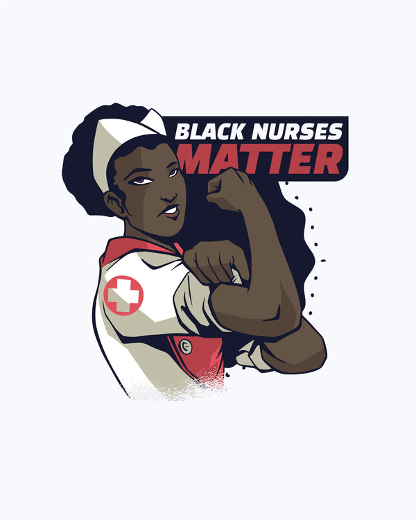 T shirt Black Nurses Matter