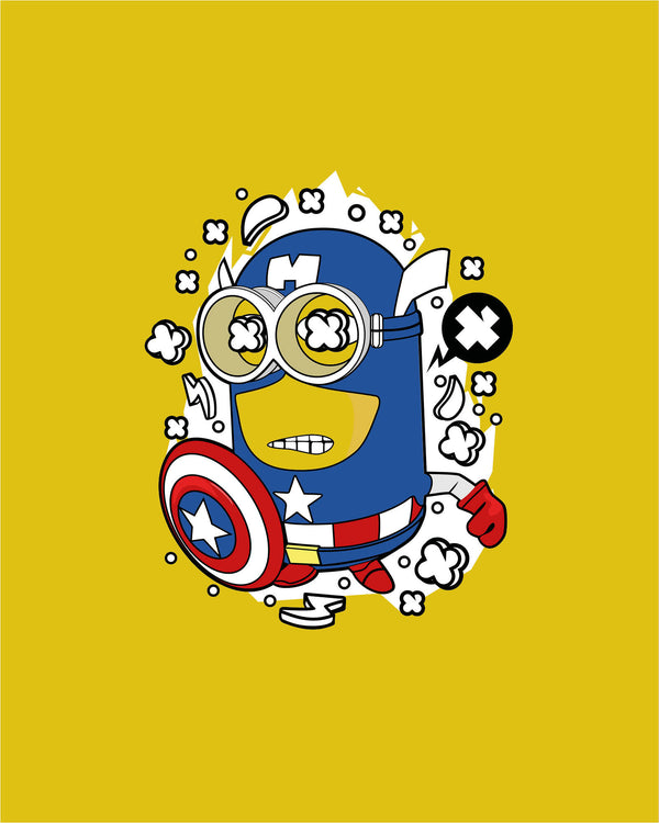 T shirt Captain Minion