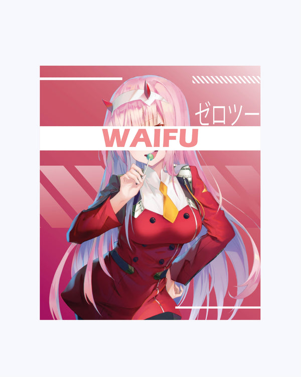 T shirt Darling in the Franxx Waifu Anime