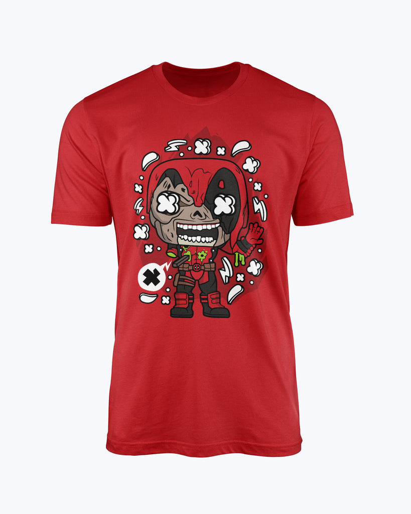 T shirt Deadpool Zombie