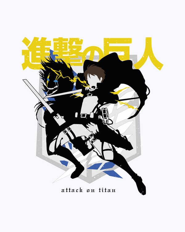 T-shirt Eren Attack On Titan
