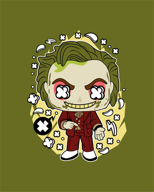 T-shirt Green Hair Joker