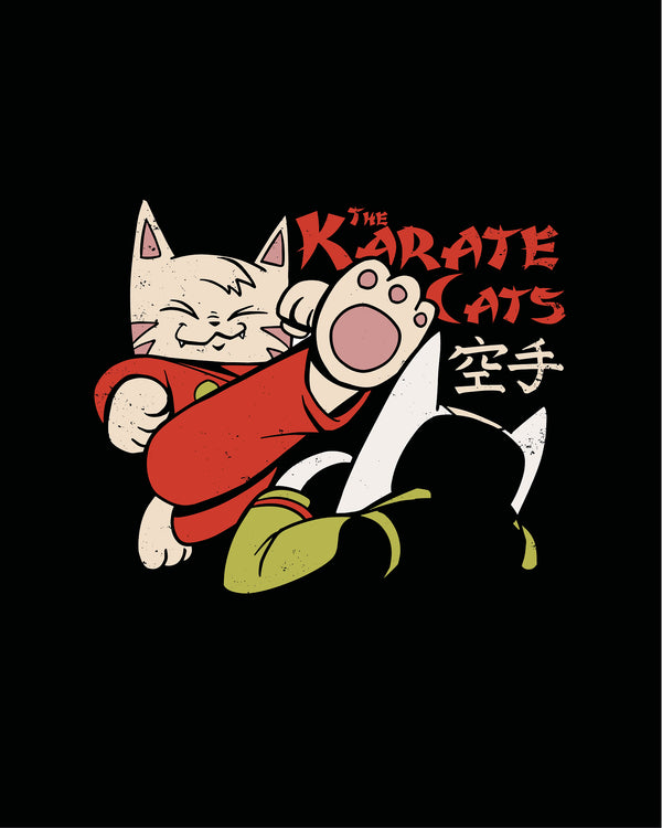 T-shirt Karate Cats