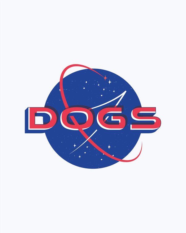 T-shirt NASA Dogs