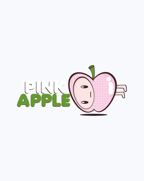 T-shirt Pink apple