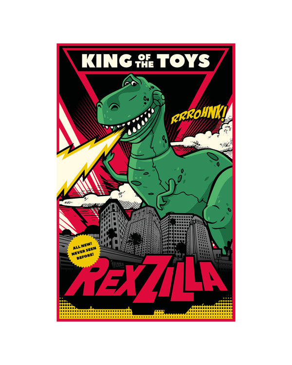 Kids T-Shirt Rex Zilla Toy Story
