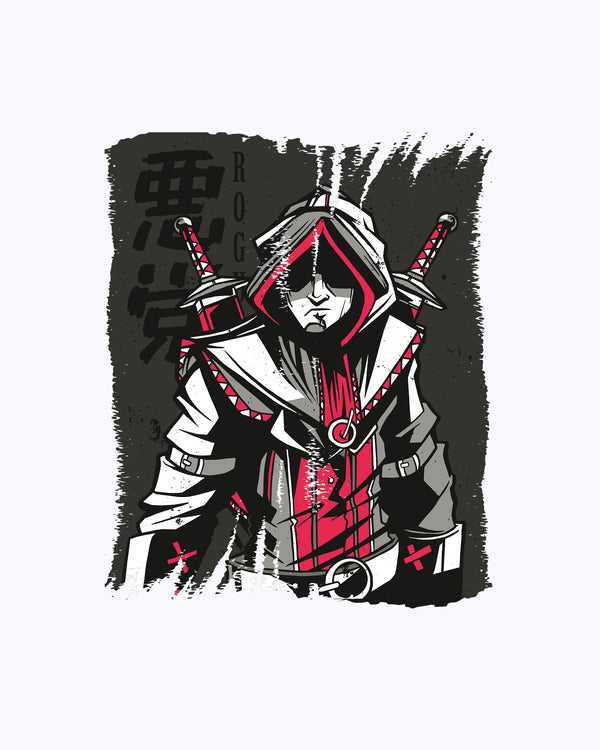 T-shirt Rogue Red And Grey