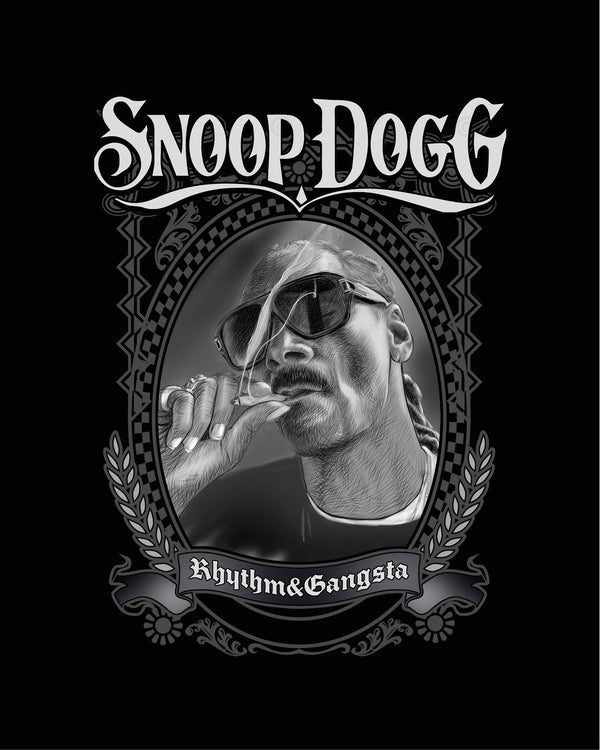 T-shirt Snoop dogg Smokes
