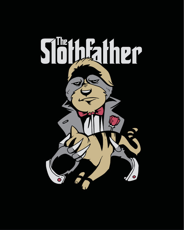T-shirt The Sloth Father