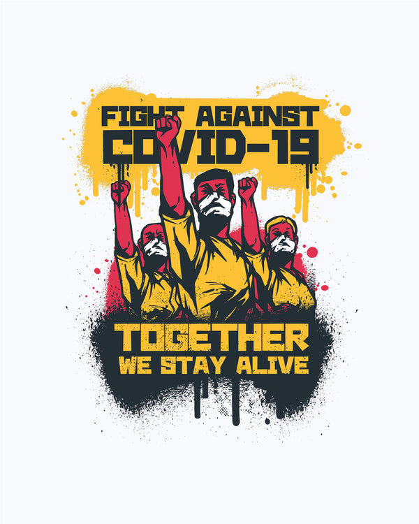 T-shirt Together We Stay Alive