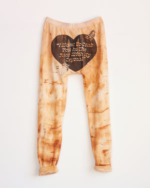 TRAIN YARD RUST DYED LONG JOHNS - M