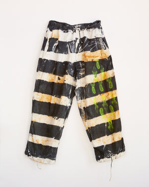 TRAIN YARD RUST DYED PRISON PANT - ONESIZE