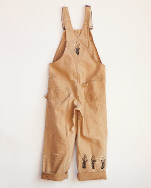 WITH LOVE AND LIGHT CARHARTT OVERALLS #2