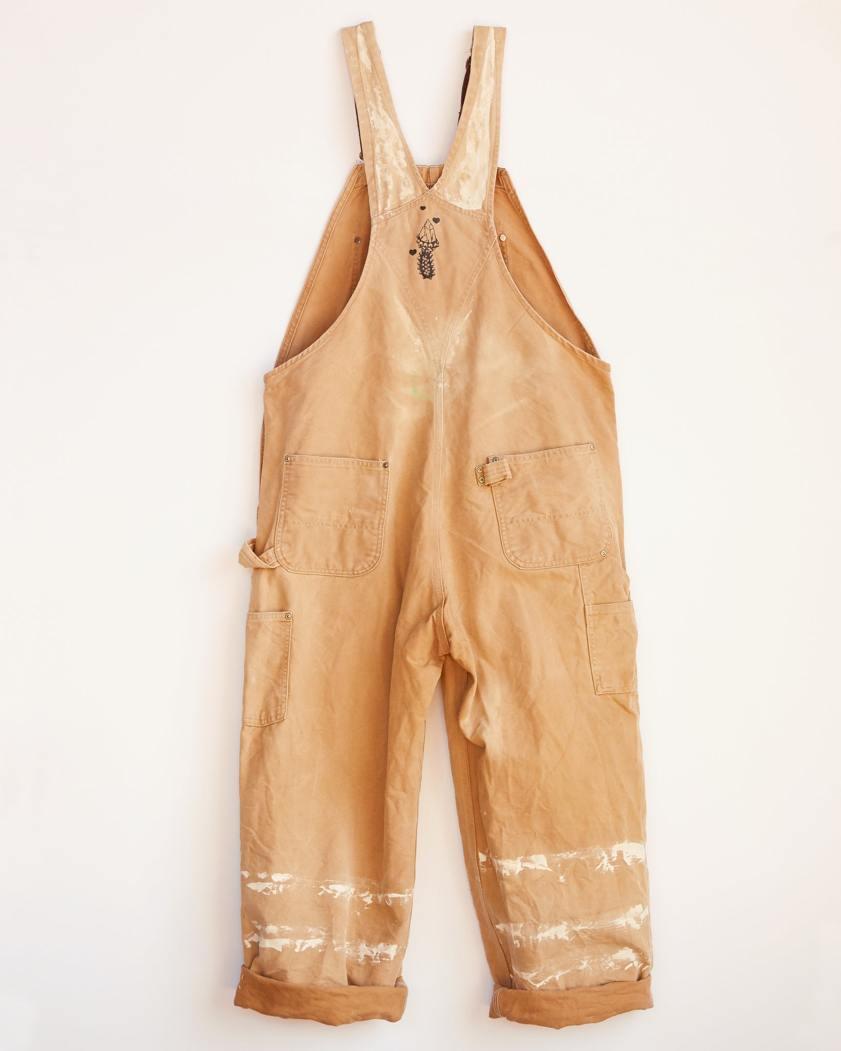 WITH LOVE AND LIGHT CARHARTT OVERALLS #3 - L