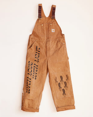 WITH LOVE AND LIGHT CARHARTT OVERALLS #1