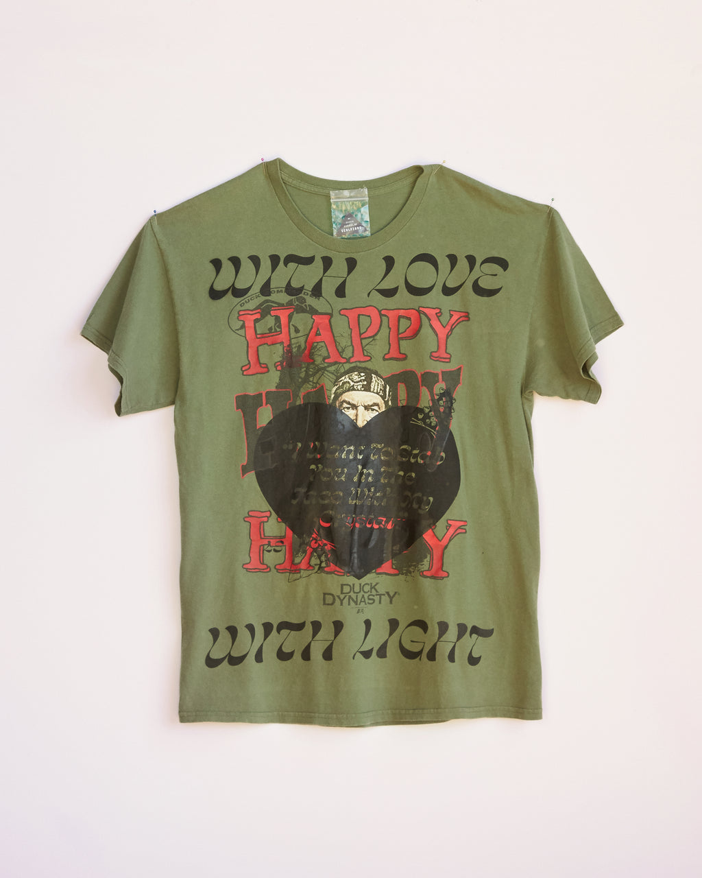 HAPPY WITH LOVE BLAST OVER SHORT SLEEVE - M