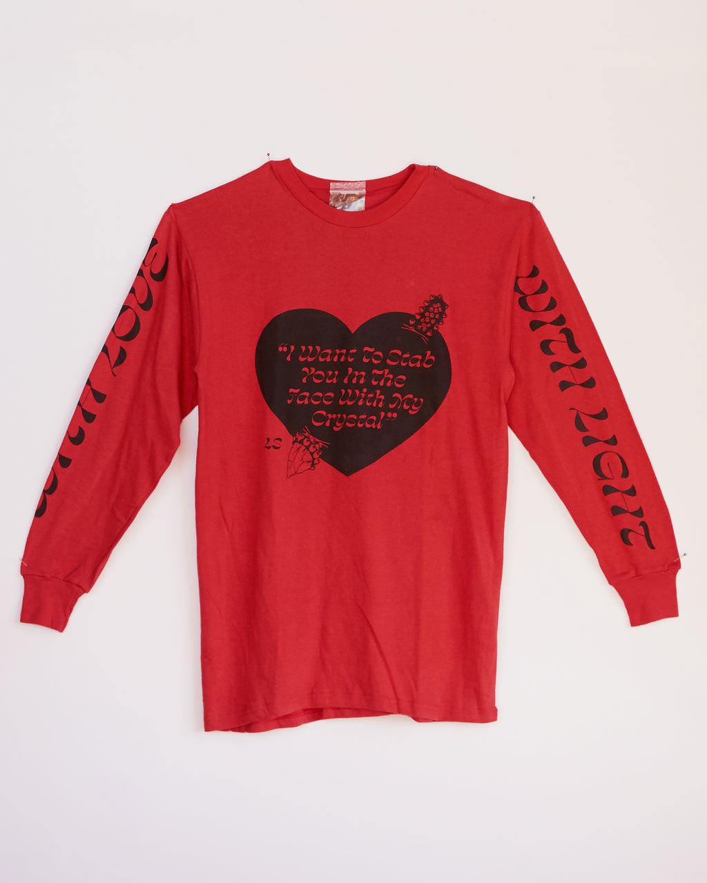 IWTSYITFWMC RED LONG SLEEVE - S