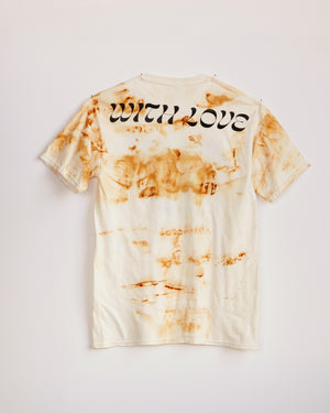 TRAIN YARD RUST DYED SHORT SLEEVE #1 - M