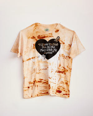 TRAIN YARD RUST DYED SHORT SLEEVE #6 - XL / XXL