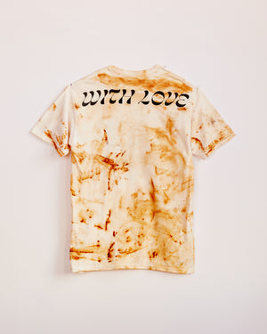TRAIN YARD RUST DYED SHORT SLEEVE #4 - M