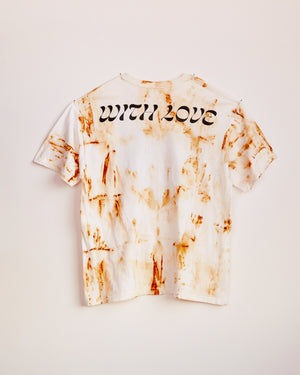 TRAIN YARD RUST DYED SHORT SLEEVE #5 - L