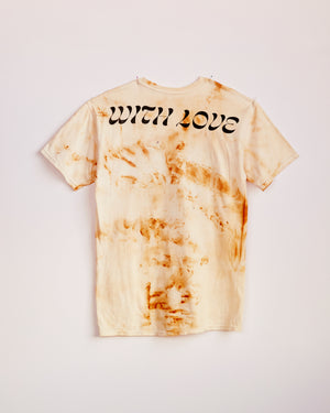 TRAIN YARD RUST DYED SHORT SLEEVE #3 - M