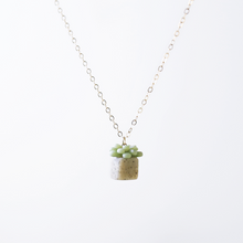 Load image into Gallery viewer, Succulent Necklace