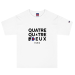T-shirt 442 x Champion brodé