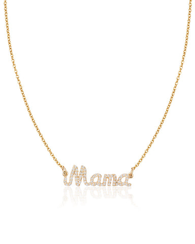 Diamond Mama Necklace