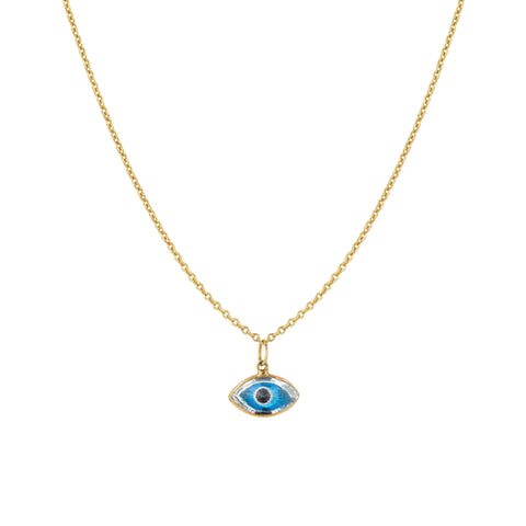 Small Marquis Evil Eye Necklace