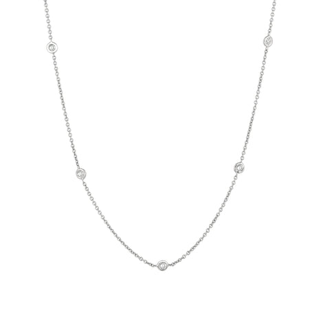 Seven Diamonds Necklace