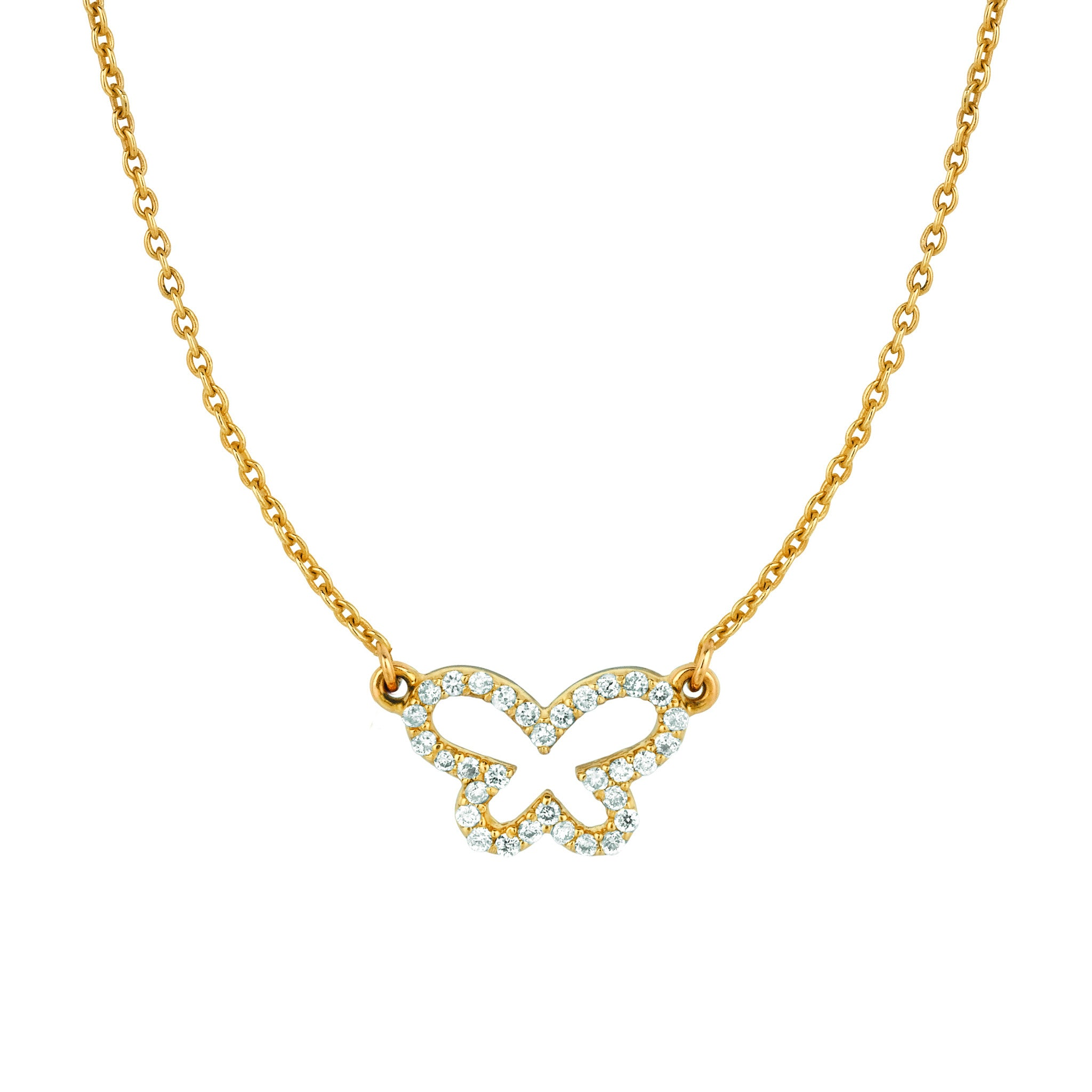 butterfly sets single pid pendant pendants diamond chain jewellery floating products