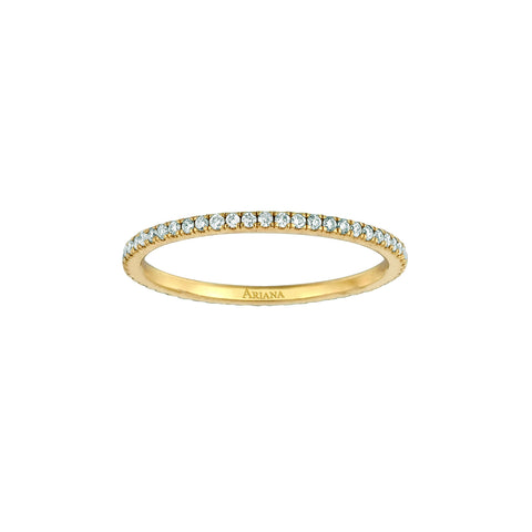 Thin Diamond Eternity Ring