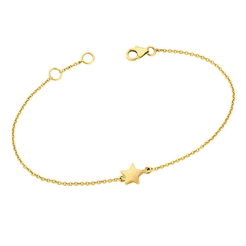 Solid Gold Star Bracelet for Soroka