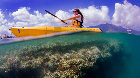Holokai Kayak and Snorkel Three Hour Tour