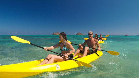 Kailua Self Guided Kayaking Discovery Tour