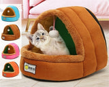Pet House with Hanging Toy Ball