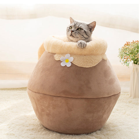 Soft Foldable Multiple Ways Pet Sleeping Jar