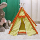 Cute Fleece Pet Sleeping Tent