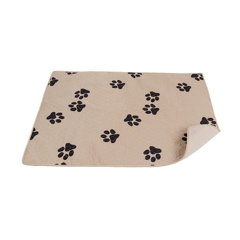 Absorbent Training Urine Pet Pads Paw Print