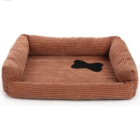 Warm Corduroy Pet Bed