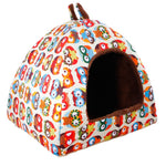 Printed Pet Home w/ Removable Mat