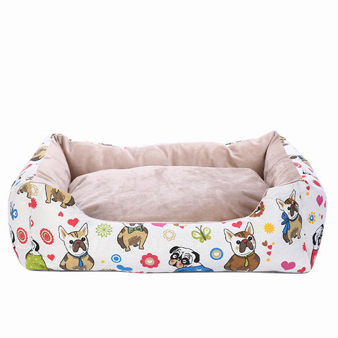 Printed Pet Bed