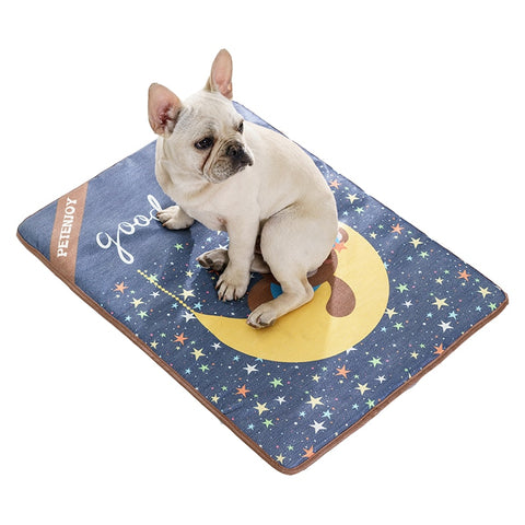 Rectangular Printed Cooling Pet Mat